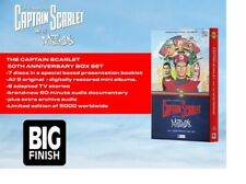 More details for captain scarlet - big finish - 50th anniversary delux box set - brand new