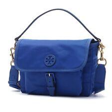 NWT❤️Authentic TORY BURCH Scout Nylon Crossbody Bag Jewel Royal Blue FREE SHIP