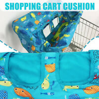 Baby Shopping Trolley Cart Seat Mat Protector Pads Cushion Kids Highchair Cover