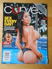 AMERICAN CURVES #77 bikini lingerie fitness magazine/CYNTHIA ESCOBAR Spring 2013