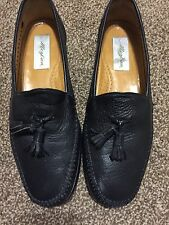 Extremely Rare Redondo Mezlan Leather Loafer Men's Dress Shoes sz 9 1/2