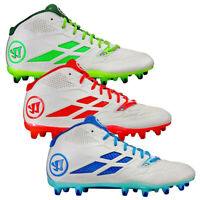 NEW Mens Warrior Lacrosse Burn 8.0 Mid Cleats - Choose Size & Color!