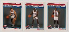 1991-92 HOOPS MICHAEL JORDAN BIRD MAGIC OLYMPICS DREAM TEAM USA 10 CARD LOT MCD