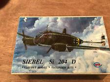 MPM 1/48 Siebel Si 204 D Vacuform Kit