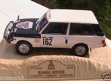 RANGE ROVER PARIS DAKAR 1979 NOREV M6 COLLECTIONS 1/43 RALLYE GENESTIE TERBIAUT