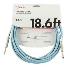 FENDER Original Instrument Cable 5,5m Daphne Blue ❘ Kabel ❘ Gitarrenkabel