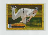 MAX SCHERZER (Detroit Tigers) 2012 TOPPS GOLD SPARKLE PARALLEL CARD #162