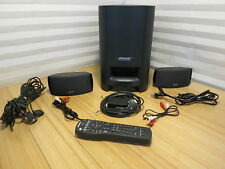 BOSE Cinemate Digital Home Theater System Subwoofer Speakers Remote All Cables