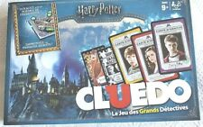 Harry Potter Clue Board Game, Cluedo French Version 2017 Francois ages 9+