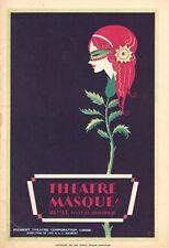 """Bette Davis """"BROKEN DISHES"""" Donald Meek / Martin Flavin 1930 Broadway Playbill"""