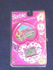 1995 BARBIE For Girls Portable Arcade LCD MOUNTAIN BIKE Hand Held Game