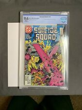 Suicide Squad #23 CBCS  9.6 White Pages (1989) 1st Oracle in cameo