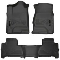 Husky Liners 99211 WeatherBeater Front/2nd Seat Floor Liner For Chevy Suburban