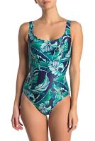 Tommy Bahama Laced Back One-Piece Swimsuit Size 10 - $159