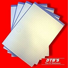 3 X A4 LINED MEMO RULED NOTE PADS HEAD/TOP BOUND JOTTER FOLIO REFILL PAD