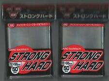 KMC CARD BARRIER 50  STRONG HARD SLEEVE PACK OVER, COVER SLEEVE OOP