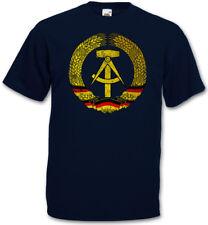 DDR SYMBOL T-SHIRT - Flag Socialism Communism Hammer Circle East Germany Logo
