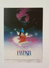 carte postale affiche cinéma FANTASIA Mickey Mouse Walt Disney