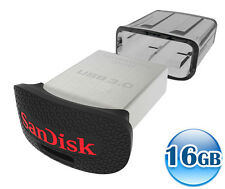 SANDISK CRUZER ULTRA FIT 16GB 16G USB 3.0 Flash Key Drive Memory Stick 130MB/s*