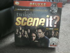 TWILIGHT SCENE IT - DELUXE DVD GAME - COMPLETE - FREE UK POSTAGE