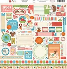 CARTA BELLA ~ ALPHABET JUNCTION ~ 12 x 12 Element Sticker Sheet ~ AJ3011