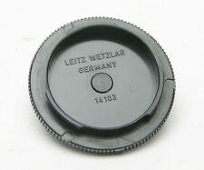ORIGINAL, Made In Germany, TWO Body Caps # 14103 For Leica R Cameras. Ex.