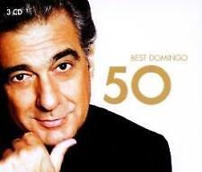 Placido Domingo - 50 Best Placido Domingo (NEW 3CD)