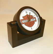 "Desk Clock - ""Harley-Davidson"" - New w/ Battery"
