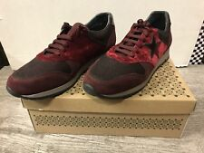 DESTOCKAGE BASKETS / SNEAKERS MARQUE COCO ABRICOT BORDEAUX T 39 NEUF 109€ @ N61