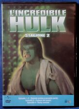 L'INCREDIBILE HULK - STAGIONE 2 - EPISODI 1-4 - DVD N.02642