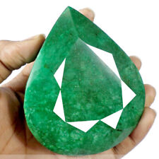 Natural Mined Colombia Green Emerald 2030 Cts Pear Cut Huge Certified Gemstone