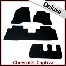CHEVROLET CAPTIVA 7-seater 2006 - 2015 Tailored LUSSO 1300g TAPPETI tappetini AUTO
