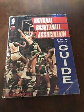 1973-74 National Basketball Association Official Guide Book