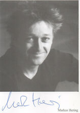 Autogramm - Markus Hering