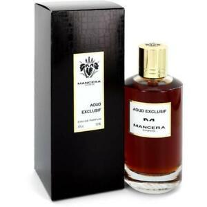 Mancera Aoud Exclusif 4 fl oz/120ml Eau de Parfum Spray  Unisex 100% Original