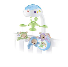 Fisher-Price CDN41 Butterfly Dreams 3-in-1 Projection Mobile, New-Born Baby Cot