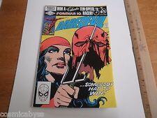 Daredevil 179 VF comic book 1980's Bronze Age  Anti Smoking issue Elektra