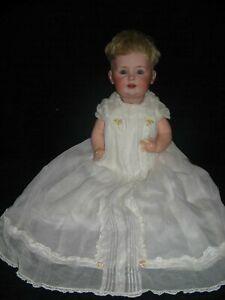 """15"""" Original  #247 RARE J.D. KESTNER Character German Bisque Doll Sleep Eyes"""