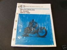 Harley 1979 - 1982 Sportster Parts Catalog NOS (104)