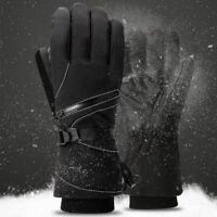 Men Women -30℃ Winter Warm Ski Gloves Waterproof Snowboard Brand Head Gloves