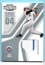 2004 Playoff Honors Players Collection Mike Piazza Game Jersey 11/25 Mets