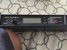 Sennheiser EW500 EW 500 Diversity Receiver 630 - 662 and 518 - 550 MHz EW500