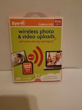 NEW - SEALED - 4GB EyeFi SD card SD-HC Eye-Fi Wi-Fi Class 6 Connect X2 WiFi