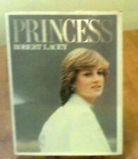 PRINCESS Robert Lacey 1982 BOOK PHOTOS HISTORY LADY DI DIANA WEDDING HONEYMOON