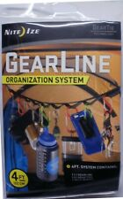 Nite Ize Gear Line Organization System 4FT With 10 S-Biner 2 Gear Tie GLN4-M1-R8