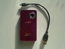 JVC PICSIO GC - FM1 GC-FM1 HD 8MP Pocket Camcorder SD please read description