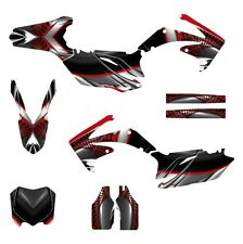 2010 2011 2012 2013 CRF 250 R graphics Honda 250R deco kit NO7777 Red