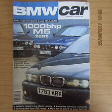 BMW CAR Magazine August 1999 E28 E34 E39 M5 ~ 528i Saloon ~ E21 320i ~ Z3