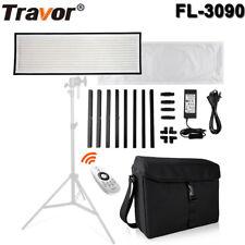 TRAVOR 576pcs LED Video Licht 30x90cm 5500K CIR90+ Photography Video Light Panel