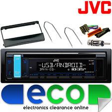 Ford Transit 94-98 Mk3 Jvc Cd Mp3 Usb Aux Ipod Radio estéreo kit de montaje 24fd01